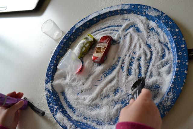 Salt Sensory Play