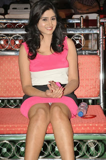 Shamili Picture Galler in Short Dress at Chandamama Kathalu Movie Getups Launch ~ Celebs Next