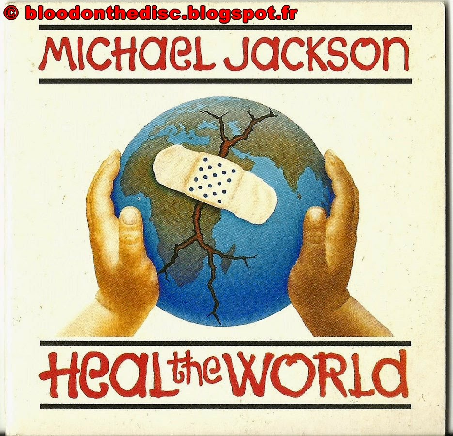 CD 2 titres de Heal The World Pochette Avant