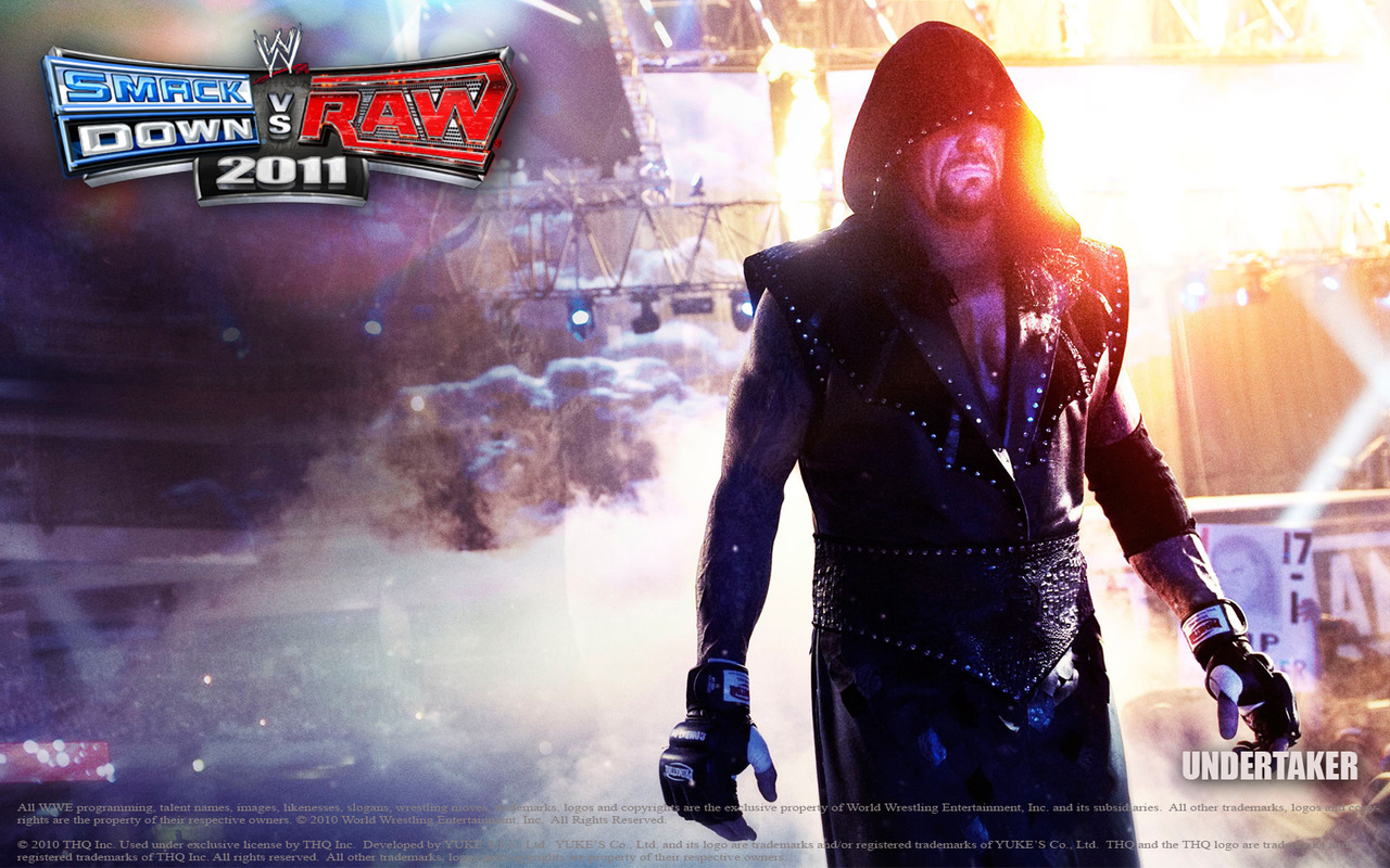 Smackdown vs raw 2011 wallpapers