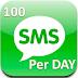 SMS அனுப்ப புது விதிமுறை - ஒரு நாளுக்கு 100  SMS  மட்டும் தான்