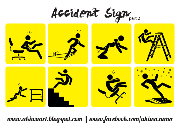Free Vector Accident Sign Part 2
