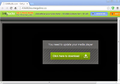 malware virus de movistar internet megaline.co linkbucks