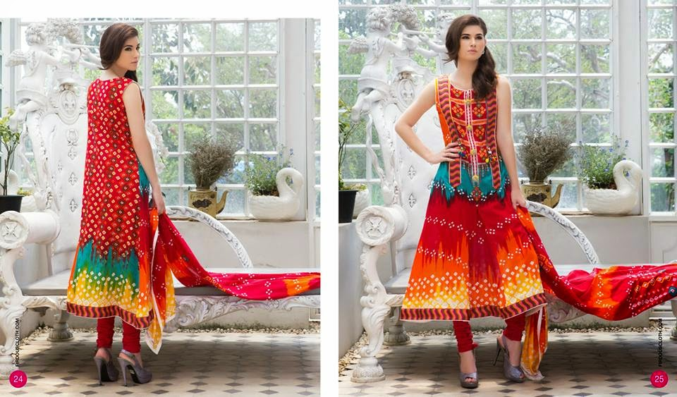 Firdous summer clothing lawn collection 2015