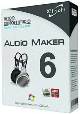 Xilisoft Audio Maker 6.4.0 12012 Full Serial