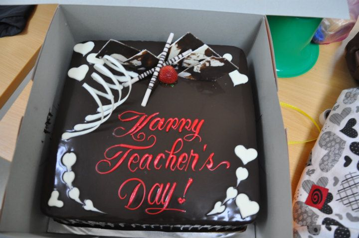 Cake Design For Teachers Day : PAPRSBIHS: PAPRSB IHS RAYA & TEACHERS  DAY