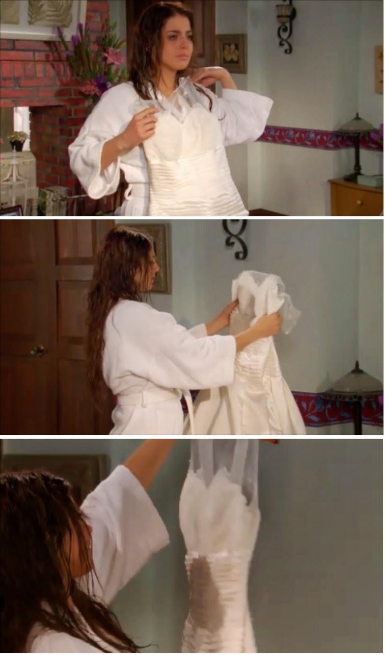 Hablemos de telenovelas: REUTILIZANDO: Un mismo vestido de novia en ...