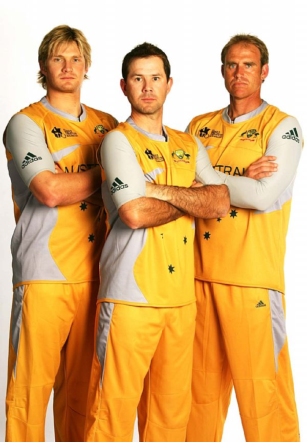 Shane Watson with Team
