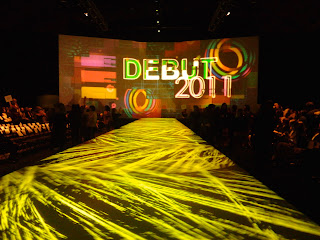 Debut Stage Backdrop FIDM Debut 2011