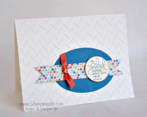 Stampin' Up! Bloomin' Marvelous Stamp Set Card Idea
