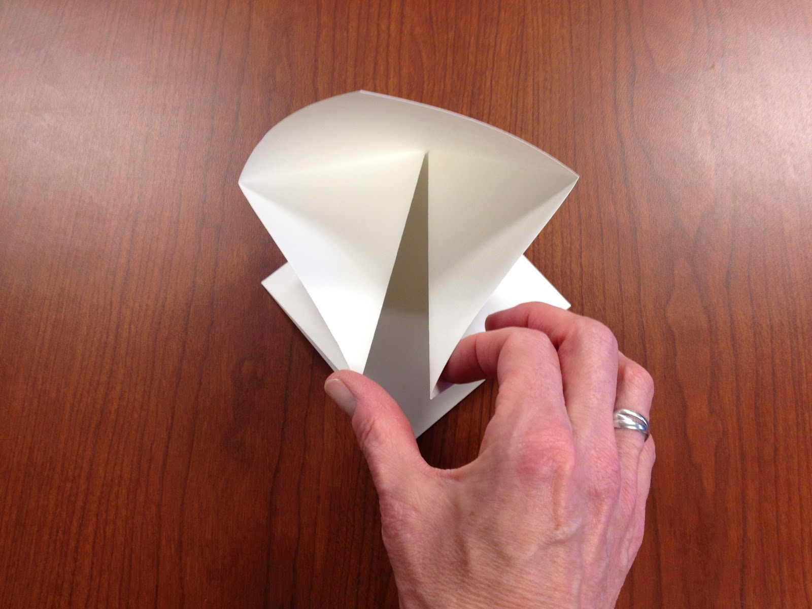 Origami Lotus Book Teachkidsart