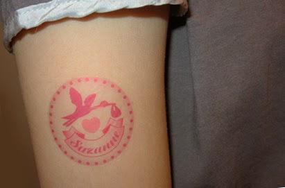 Tatouage les photos des tattoos des mamans pour leur bébé - Tatouage Prenom De Son Enfant