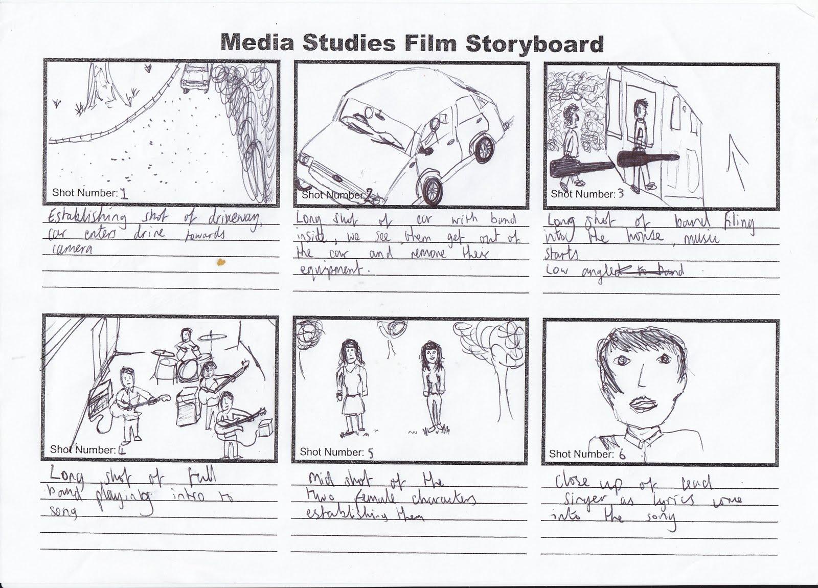 Kris Barnard Media A2: Music Video Storyboard