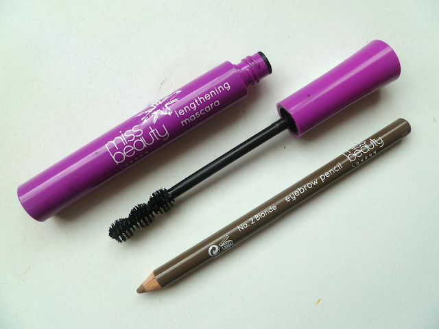 miss beauty london mascara eyebrow pencil