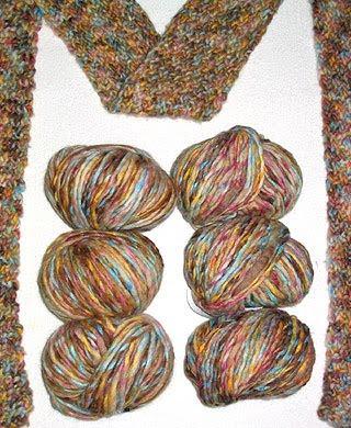 Lion Brand Landscapes First Knit Scarf