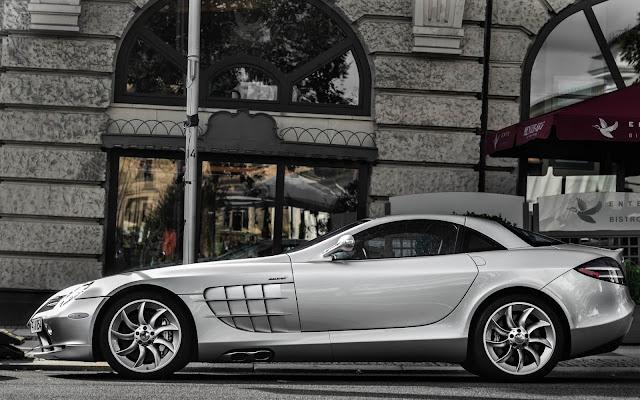Imagenes del Mercedes-Benz SLR McLaren Gris