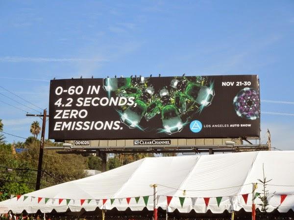 LA Auto Show 2014 billboard