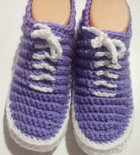 Free Crochet Pattern For Vans Slippers : Image Vans Slippers Crochet Pattern Pdf Download