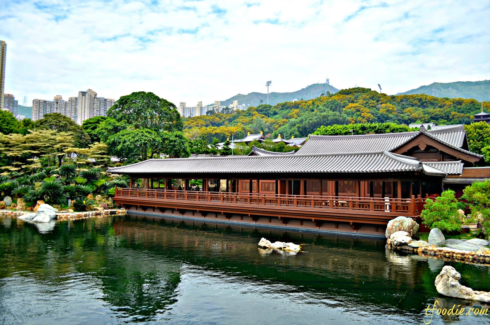 the gardens cover an area of 35000 square metres and although being built recently its architecture and landscaping give visitors a sense of serenity and - Nan Lian Garden