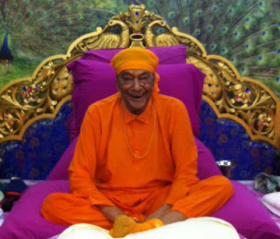 Latest pic of Shree Kripaluji Maharaj in Delhi