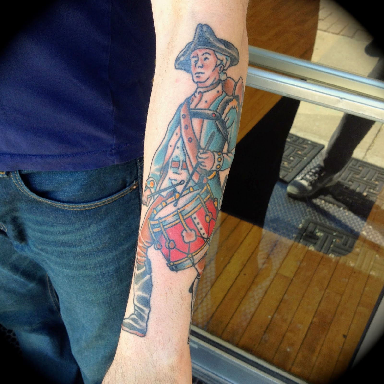 Flying tiger tattoo for American revolutionary war tattoos