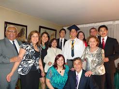 En Licenciatura de nieto Ricardo Guajardo Gavilán - dic. 2014