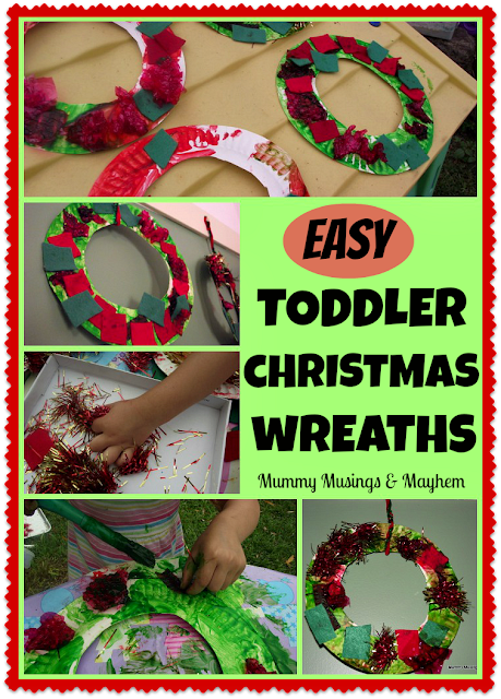 Easy toddler Chrsitmas craft