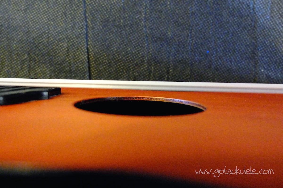 Alic Soprano ukulele top