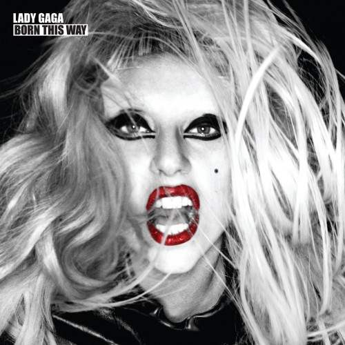lady gaga born this way cd cover image. Lady Gaga Teeth Album Cover.