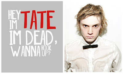 quote, american horror story, tate, evan peters,