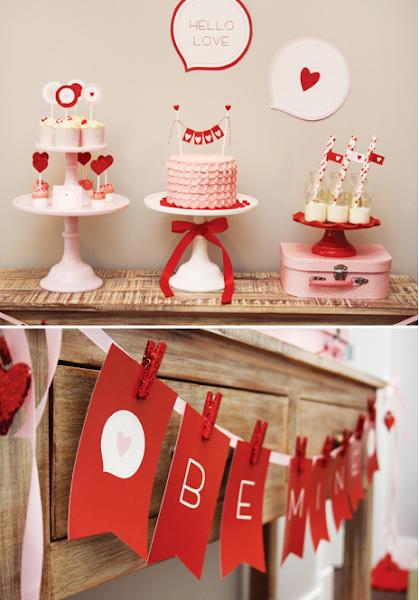 Decoracion san valentin decorar tu casa es for Decoracion san valentin