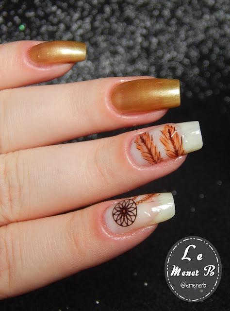 nail art filtro dos sonhos