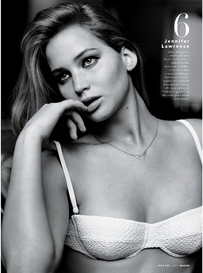 JENNIFER-LAWRENCE - Maxim Hot 100