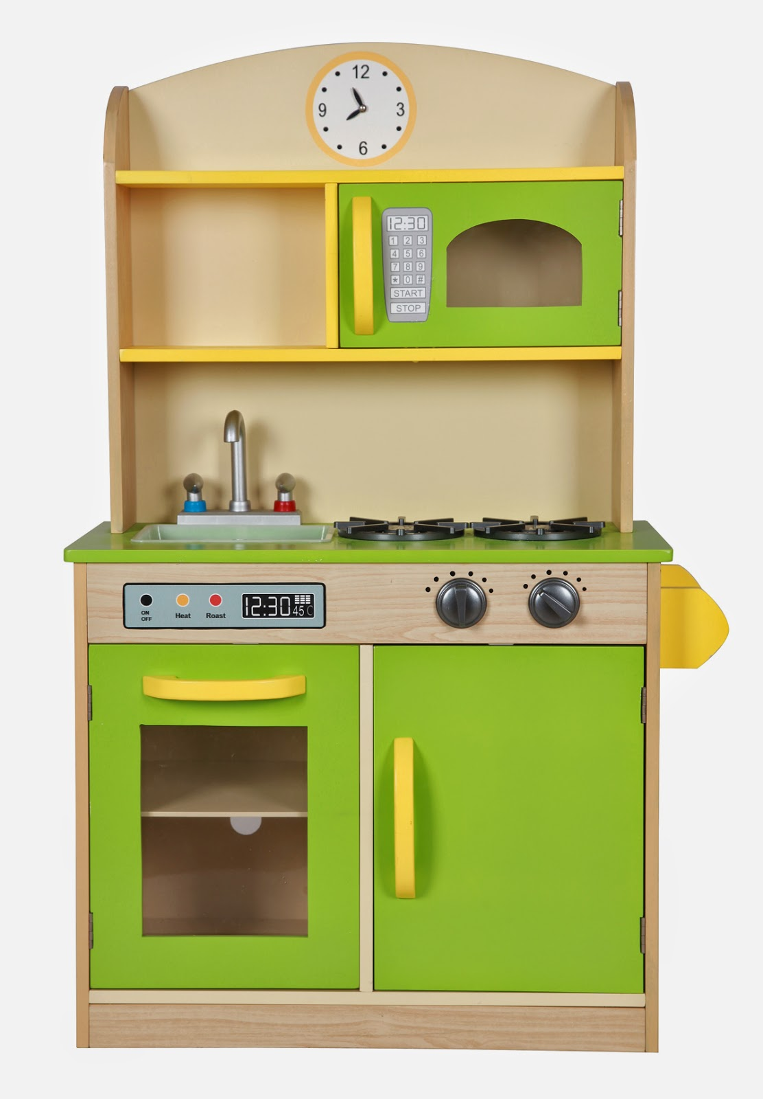 Teamson Deluxe Wooden Play Kitchen