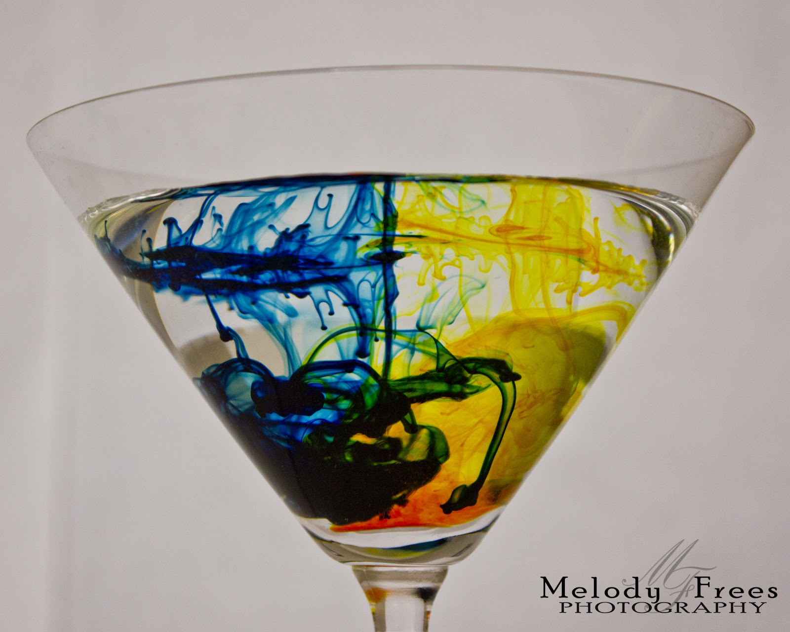 Melody Frees Photography Food Coloring And Water