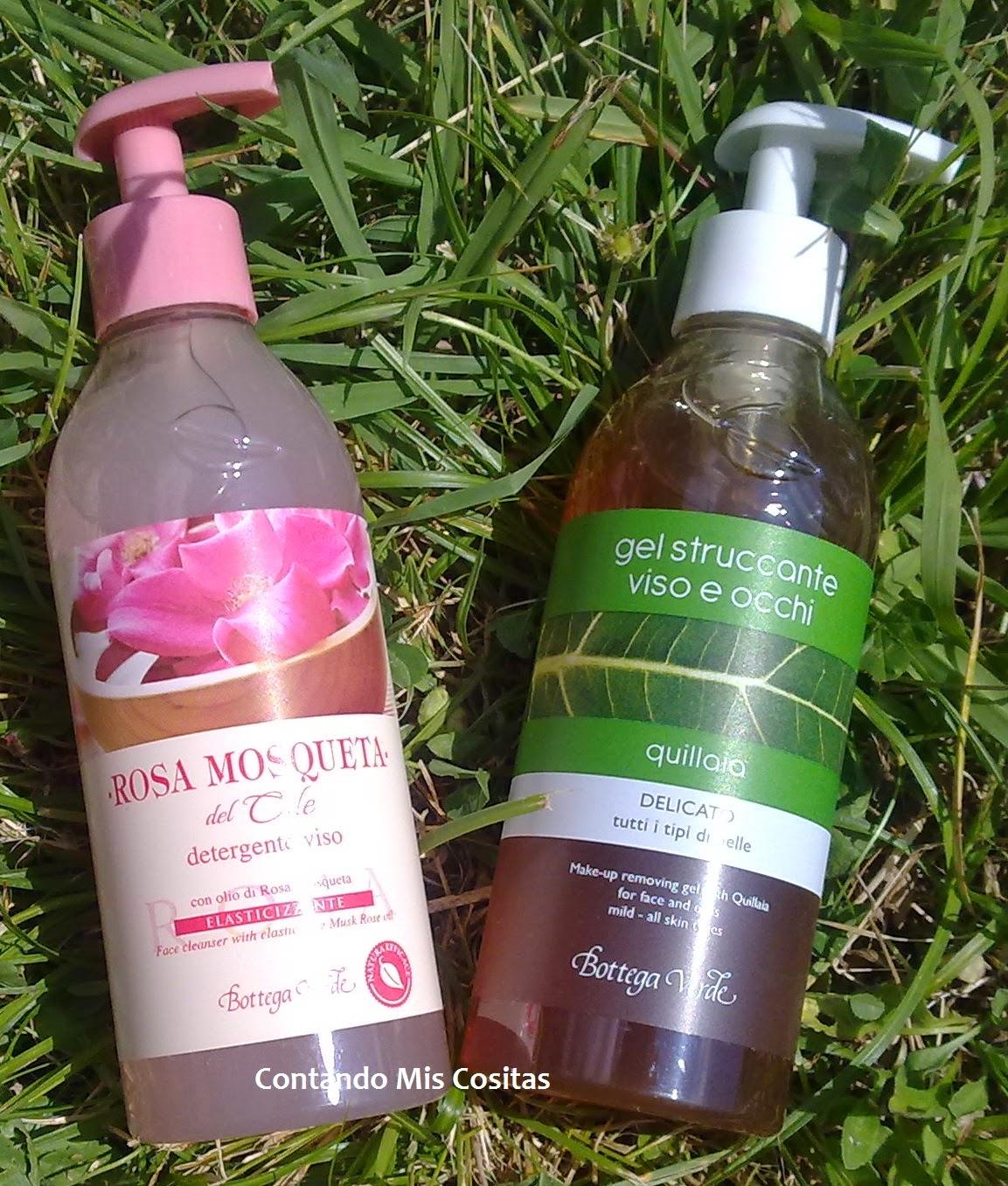 bottega verde Limpiador facial regenerador con rosa de mosqueta