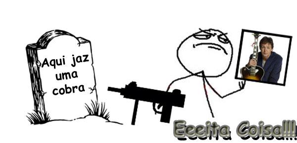 meme mata a cobra e mostra o pau é o significado dessa charada