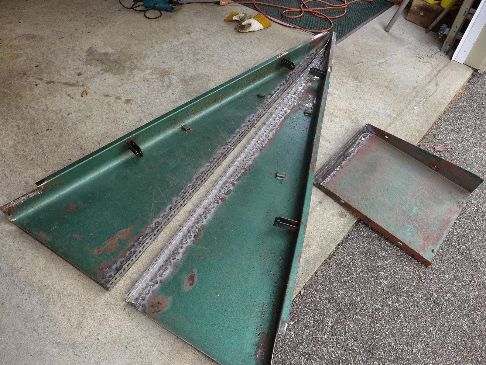 nails and sawdust rebuilding an old bilco basement bulkhead door