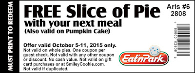 Print your Free Slice of Pie coupon here!