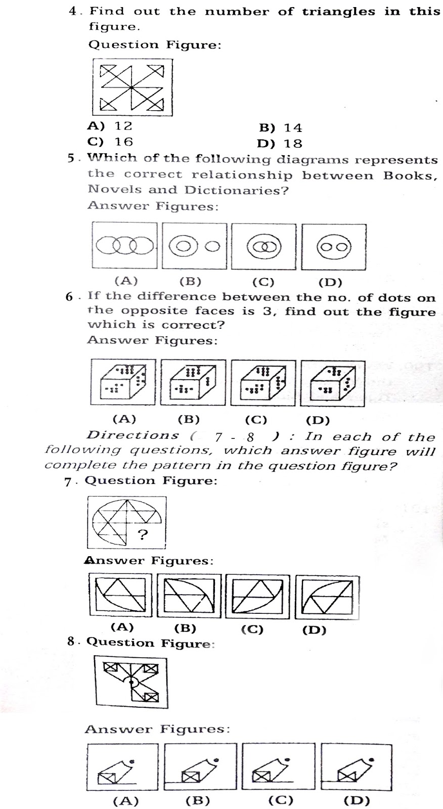 practice reasoning questions explanations for ssc fci exam the list of general intelligence and reasoning questions explanations for ssc chsl fci exam were given below candidate those who are applied for this