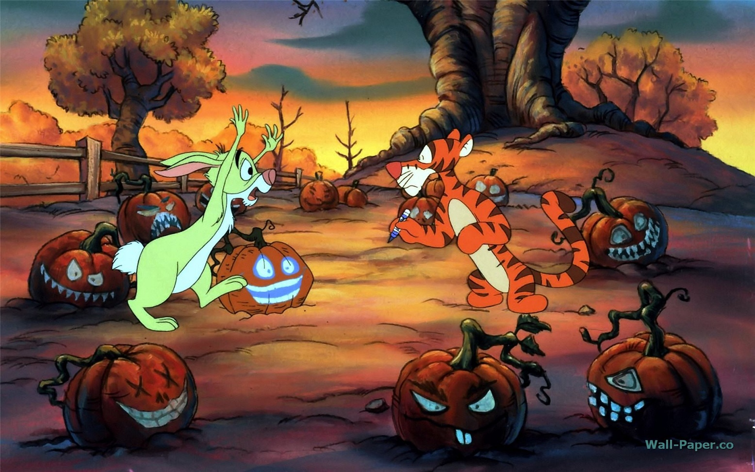 Disney Halloween Wallpapers And Pictures