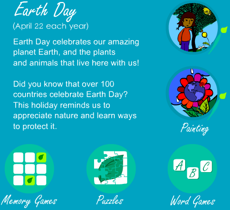 http://www.sheppardsoftware.com/usa_game/holiday_paint/earthday_home.htm