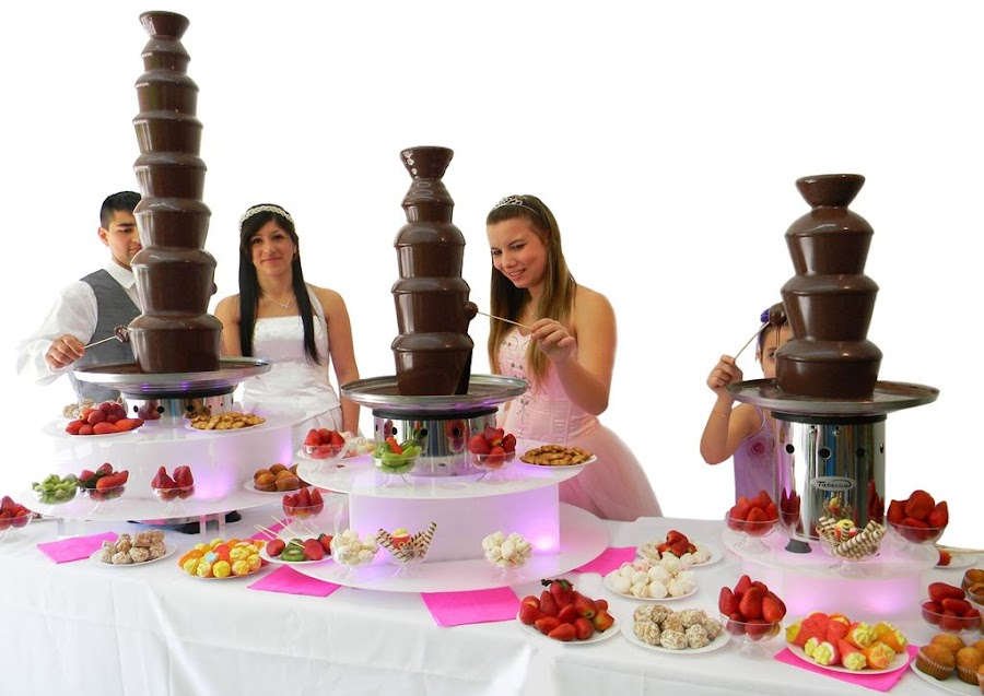 Cascada de chocolate Rosario, Funes, Baigorria, Arroyo Seco, Soldini, Alvear, San Lorenzo