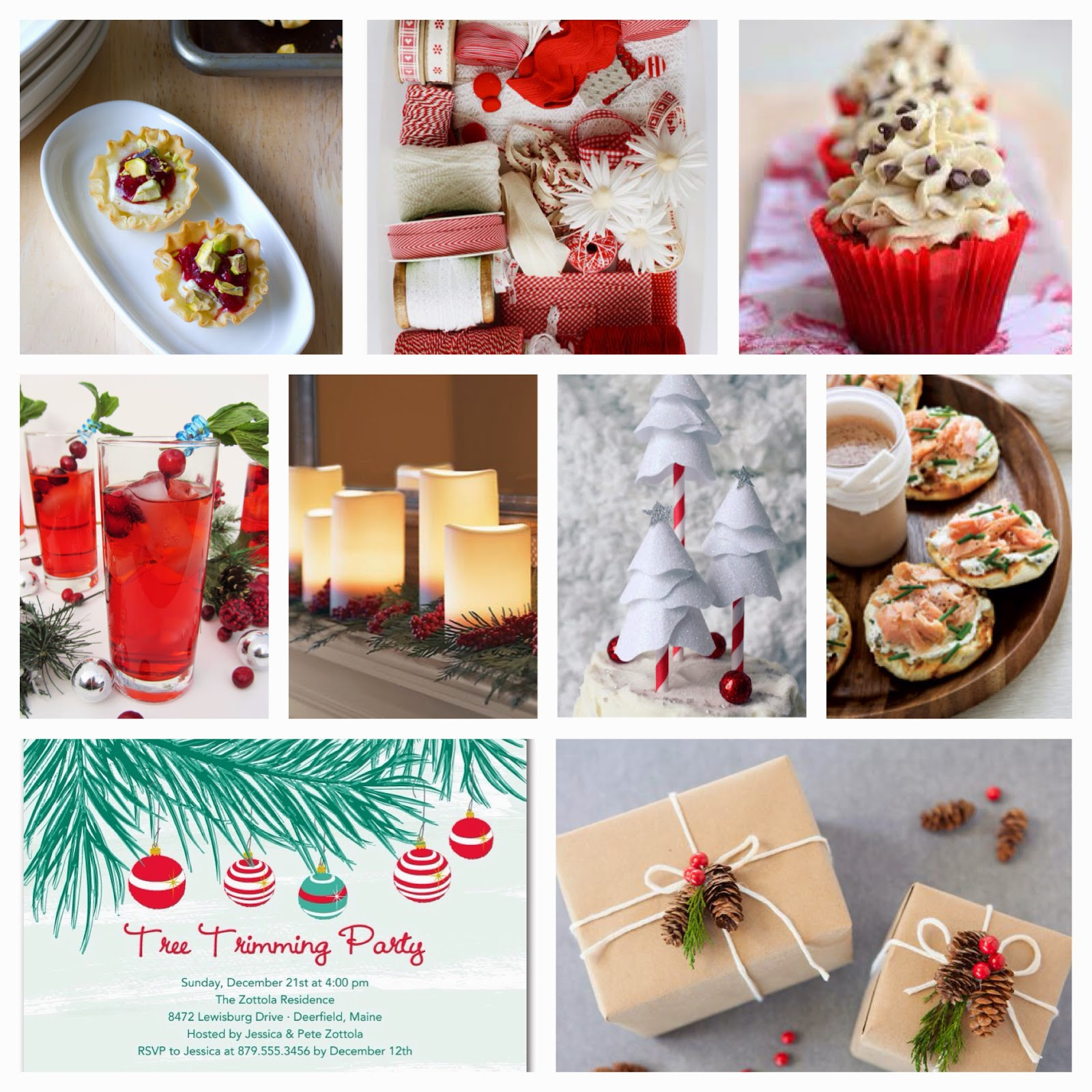 holiday inspiration board