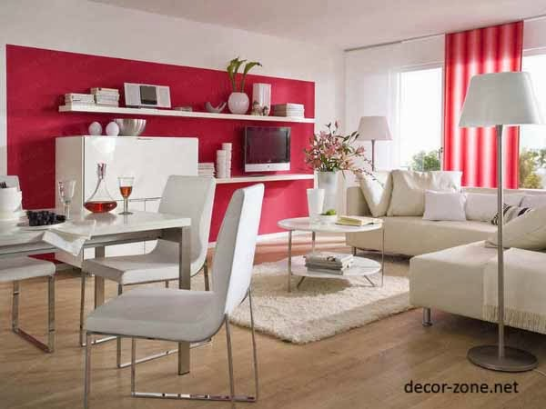 red curtains design ideas for living room