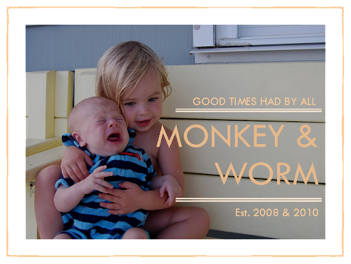 Monkey & Worm