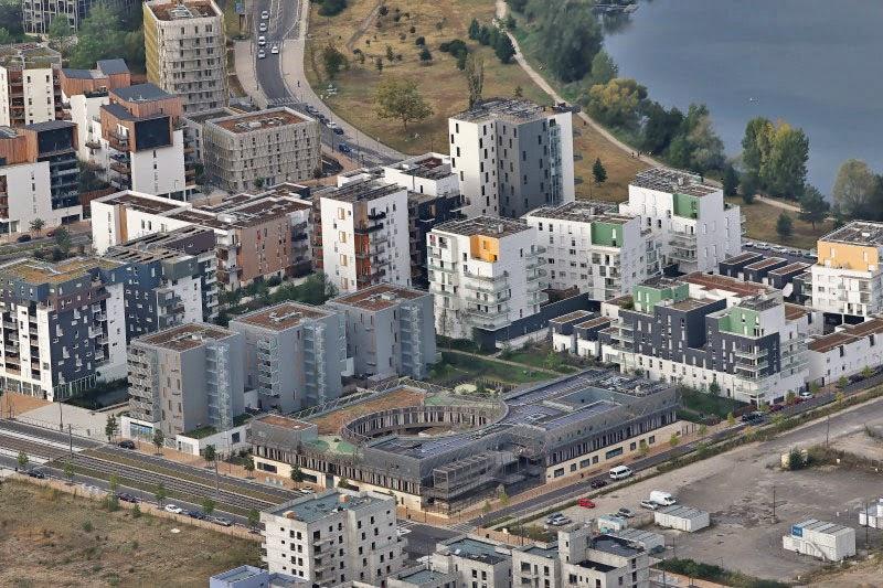 Ecoquartier Ginko à Bordeaux Lac