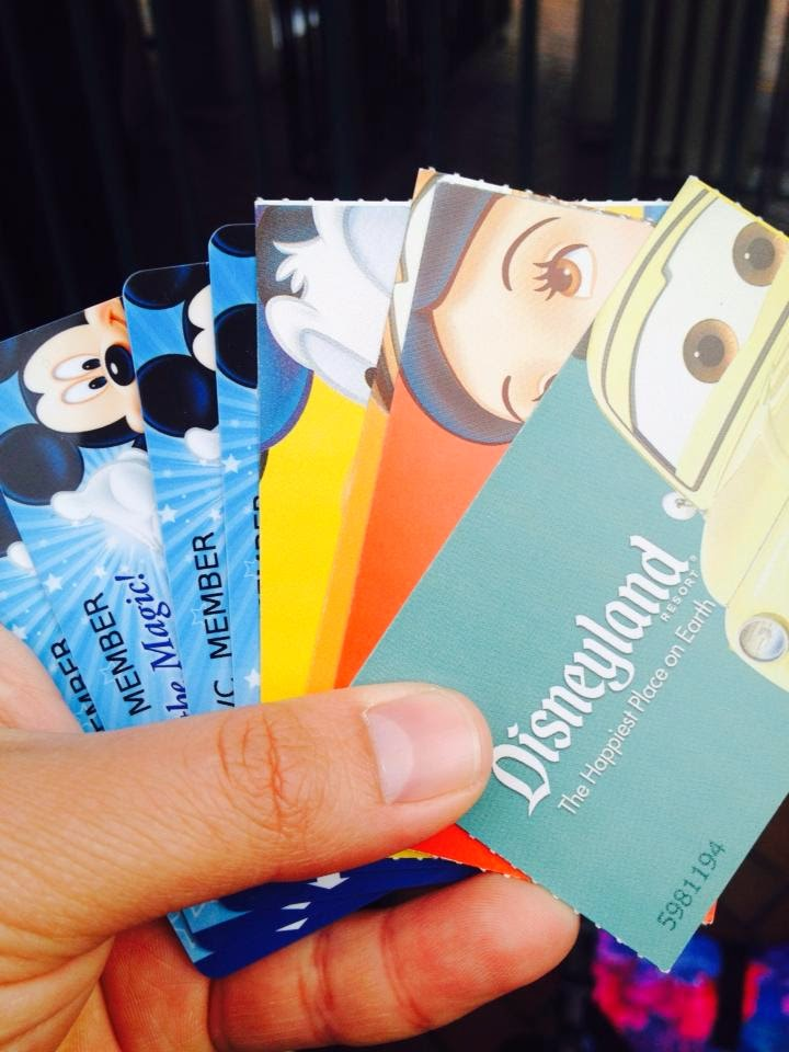 Tickets Disneylandia