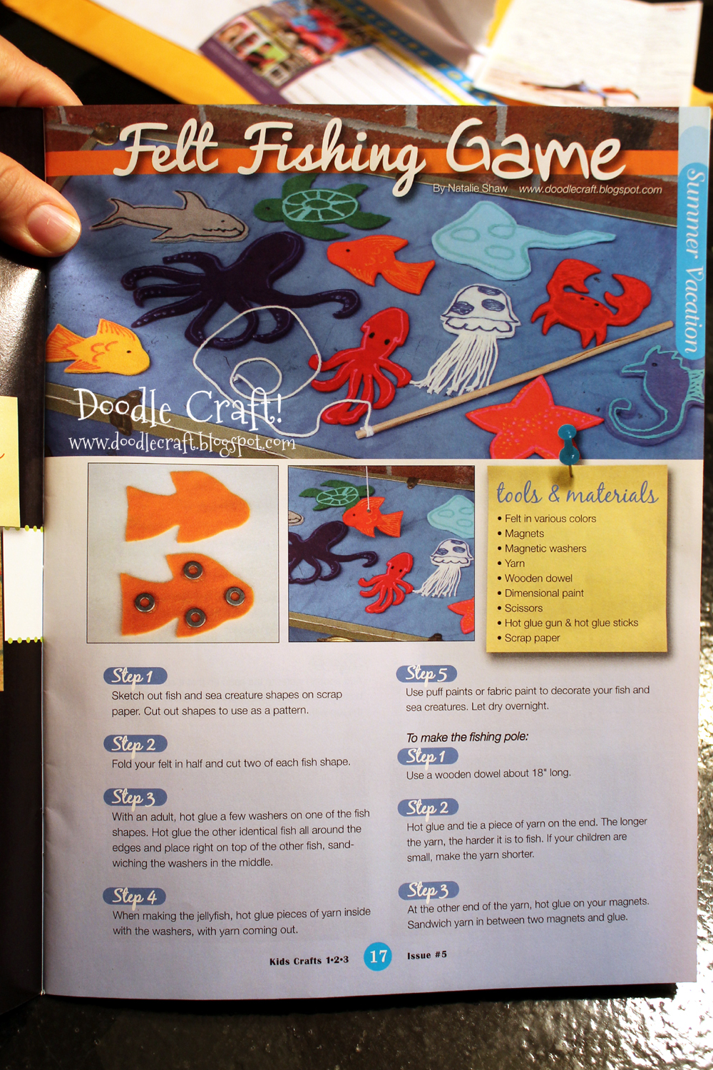 Doodlecraft under the sea creature magnetic fishing set for How much are fish at walmart