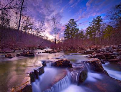 Arroyo Boktuklo Creek Magic en Oklahoma USA